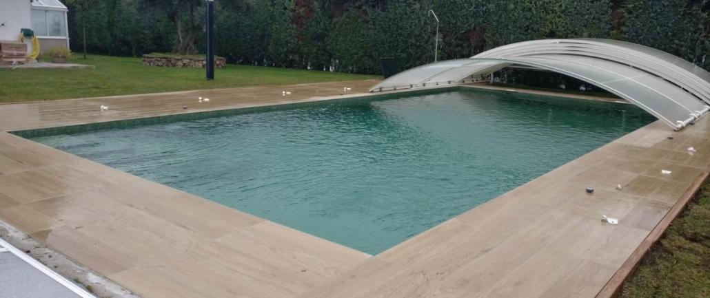 Construcción piscina chalet