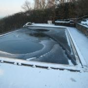 ¿Qué pasa si se congela mi piscina?