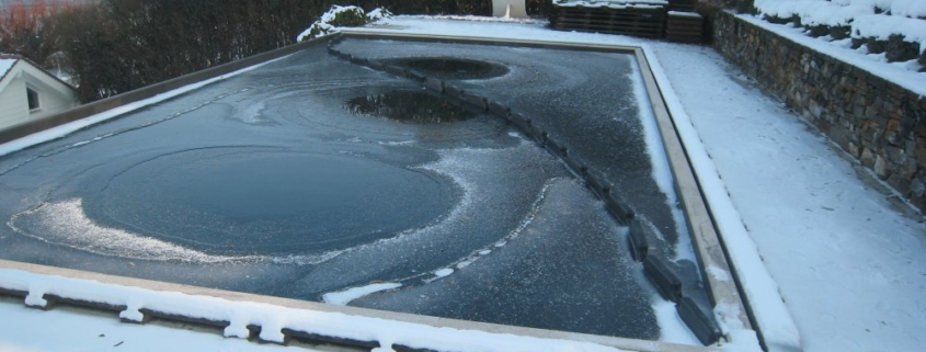 piscina helada